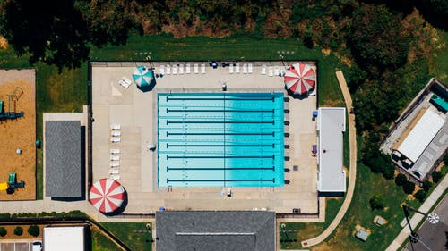 外觀, 建築, 日光, 游泳池 的 免費圖庫相片