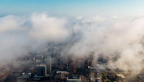 Gratis arkivbilde med by, bygninger, flyfoto, fugleperspektiv