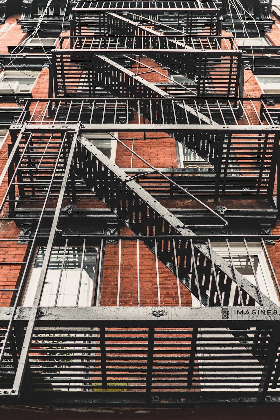 apartments, architecture, building