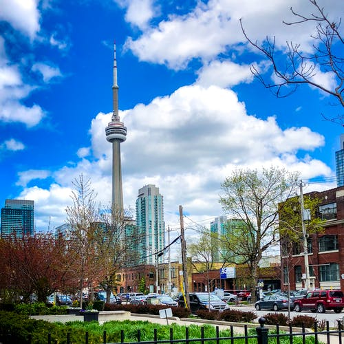 Gratis lagerfoto af cn tower, Toronto