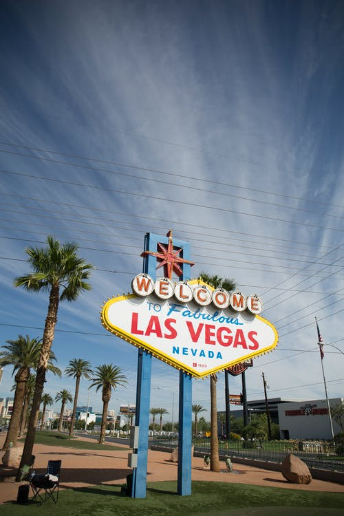 Imagine de stoc gratuită din bun venit, Las Vegas, nevada, vegas