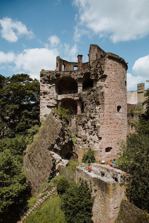 Imagine de stoc gratuită din abandonat, castel, castel vechi, heidelberg