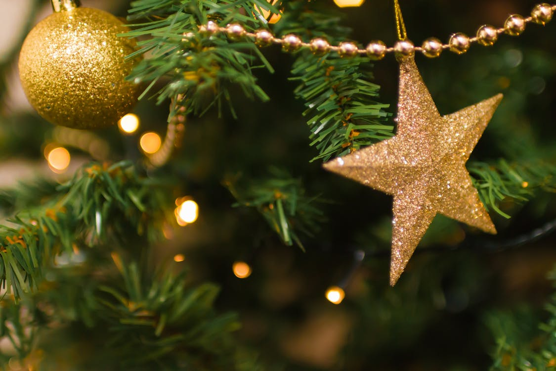 Selective Focus Photography of Star Ornament