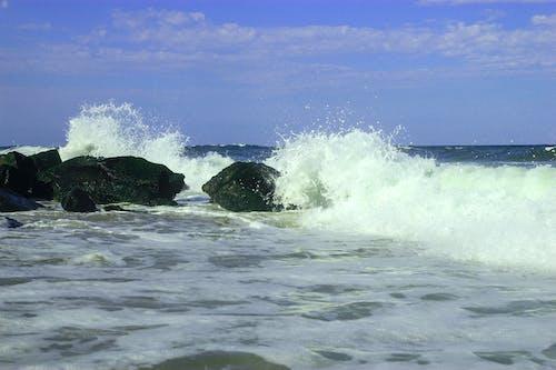 Free stock photo of beach, ocean, rocks, seashore
