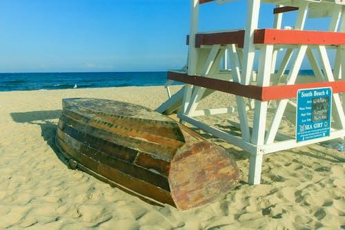 Free stock photo of beach, lifeguard, lifeguard chair, Lifeguard stand