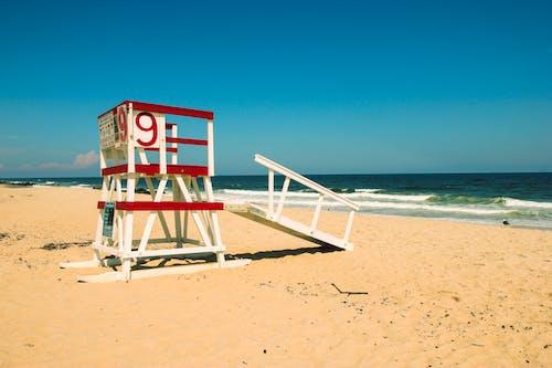 Free stock photo of beach, lifeguard, Lifeguard stand, lifeguard tower