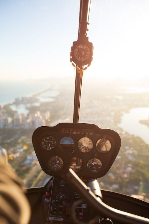 flyg, fordon, helikopter