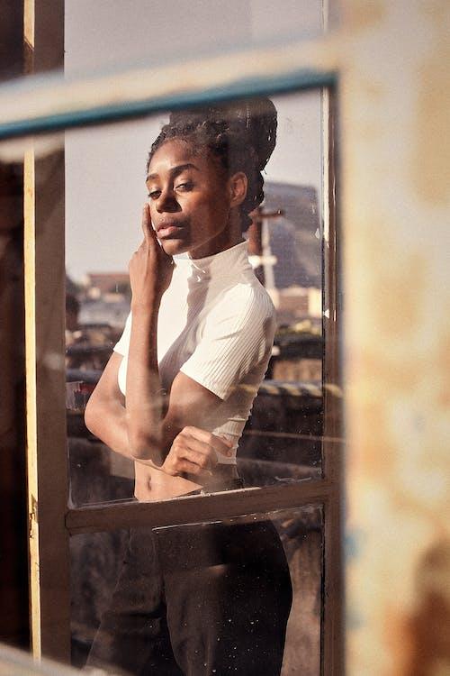 Ingyenes stockfotó afro-amerikai nő, divat, fekete nő, modell témában