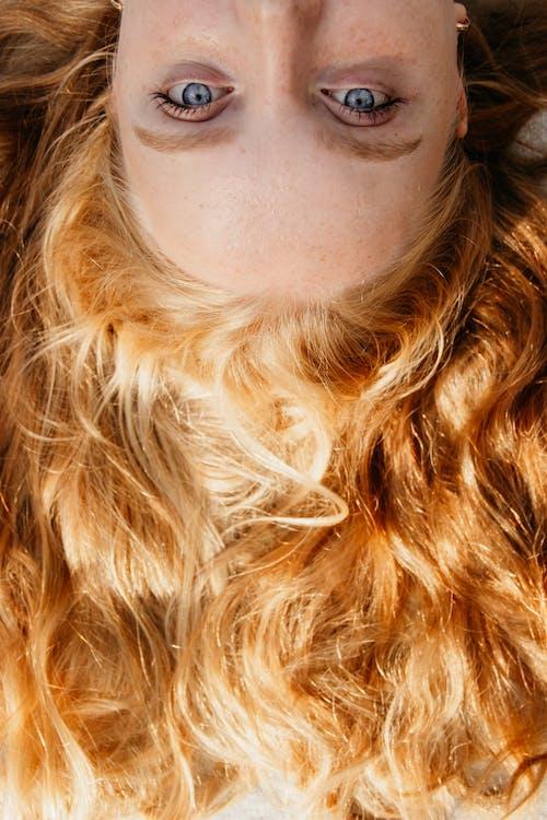 gözler, Kadın, kişi, kıl içeren Ücretsiz stok fotoğraf