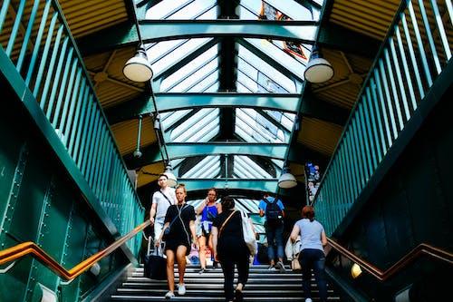 下降, 低角度拍攝, 城市, 室內 的 免费素材照片