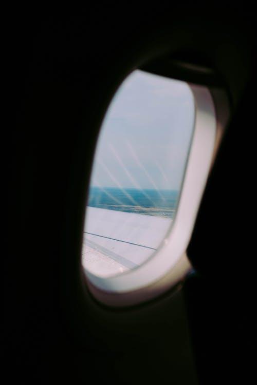 Kostnadsfri bild av flyg, flygande, flygplan, fönster