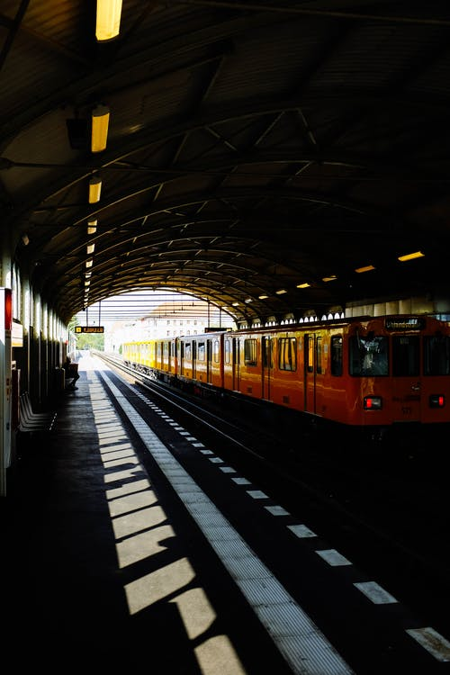 ατμομηχανή, γραμμές τρένου, δημόσιες συγκοινωνίες