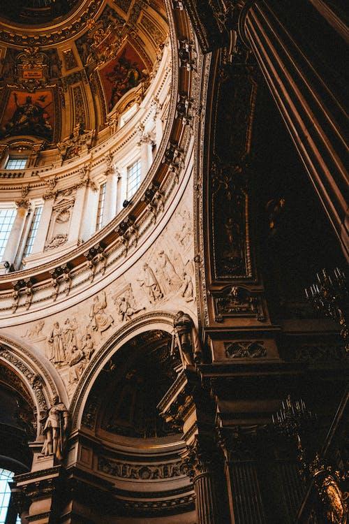 คลังภาพถ่ายฟรี ของ ซุ้มประตู, มหาวิหาร, สถาปัตยกรรม, อาคาร
