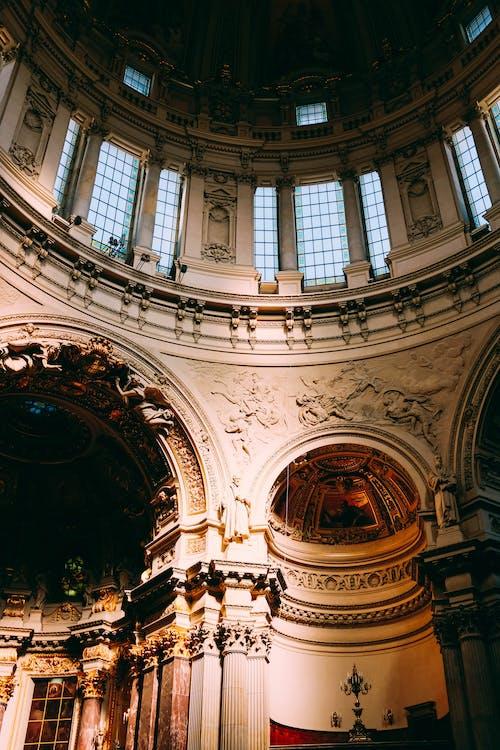 architektura, budova, církev