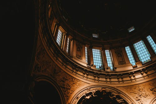 Δωρεάν στοκ φωτογραφιών με αρχιτεκτονική, εκκλησία, εσωτερικοί χώροι, θόλος