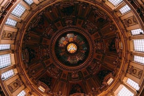 大教堂, 天花板, 建築, 建造 的 免费素材照片
