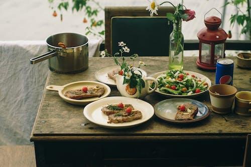 Foto profissional grátis de alimento, almoço, carne, delicioso