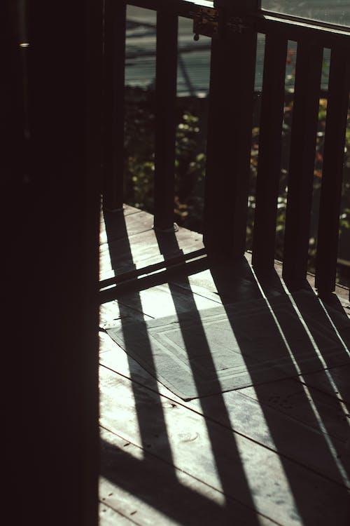 balkon, sabah içeren Ücretsiz stok fotoğraf