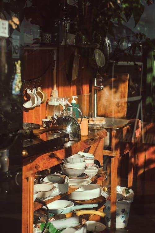 geschirr, kochgeschirr, küche