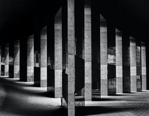 Foto stok gratis Arsitektur, bangunan, gedung, hitam & putih