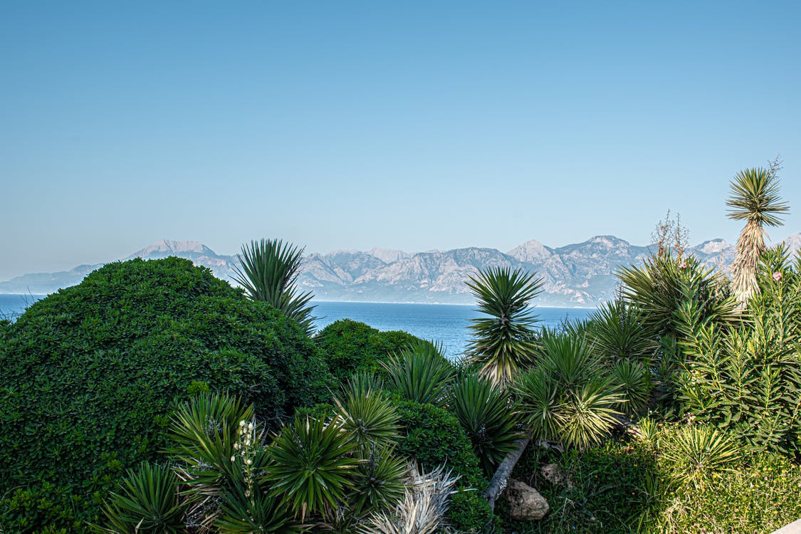 antalya, frente al mar, Mediterráneo