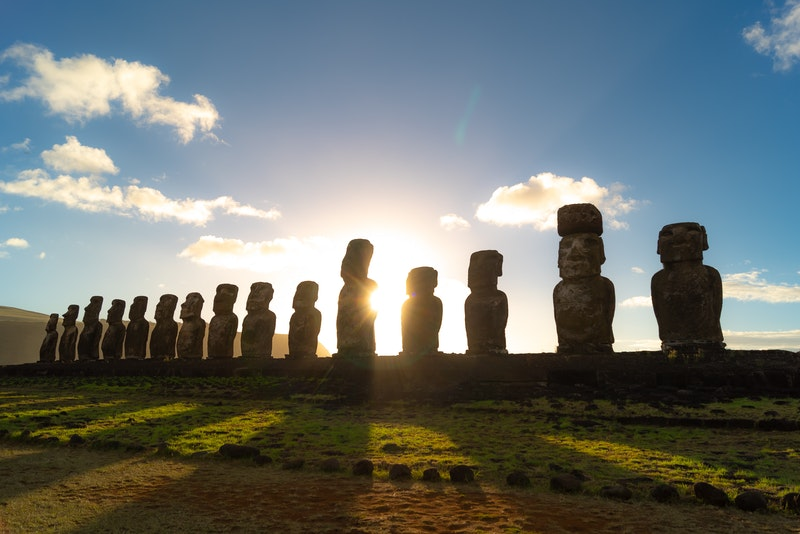 Holiday on Easter Island