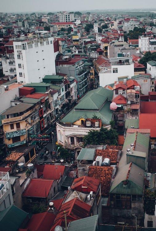 Hanói, paisagem da cidade, paisagem urbana
