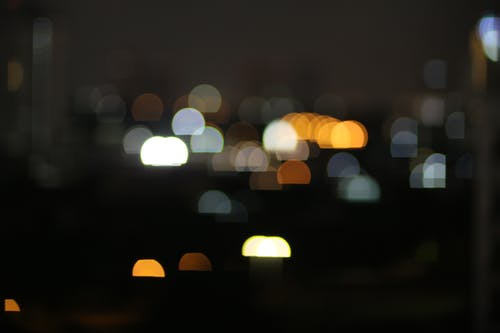 Free stock photo of bokeh, night, night lights