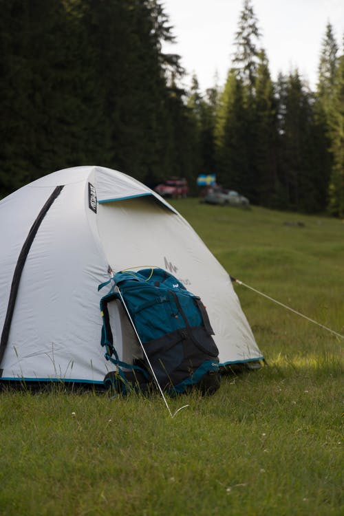 White Camping Tent