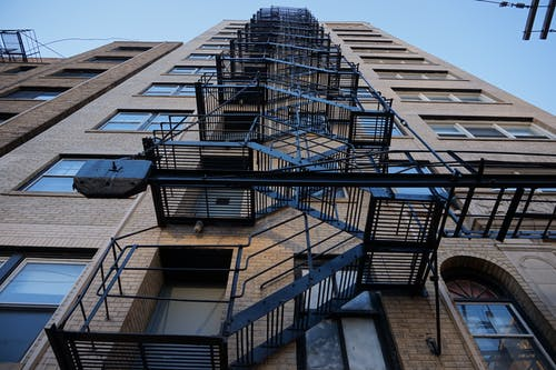 Free stock photo of chicago, edgewater, fire escape, high rise