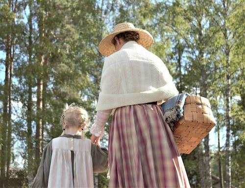 Free stock photo of basket, child, clothing