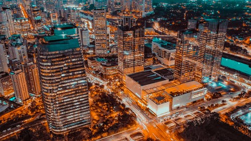 商業, 城市, 屋頂, 市中心 的 免費圖庫相片