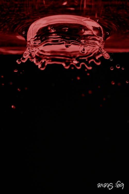 Ingyenes stockfotó absztrakt, piros, víz, vízcsepp témában