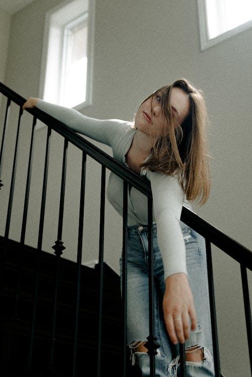Ảnh lưu trữ miễn phí về cầu thang, chụp ảnh, đàn bà, đẹp