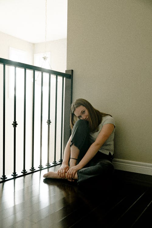 Photo Of Woman Sitting