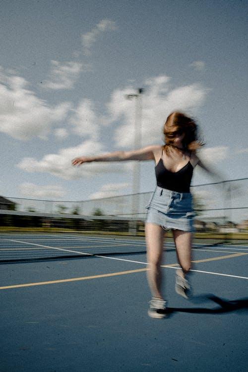 Бесплатное стоковое фото с Активный, бег, волос, городской