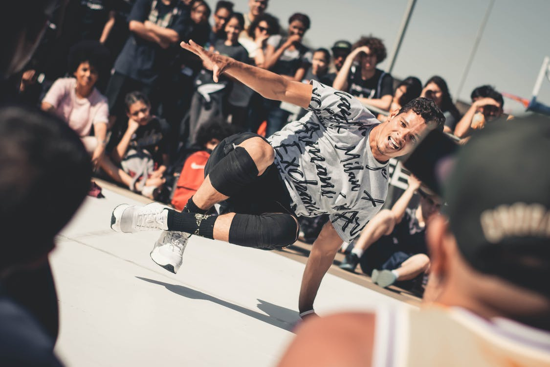 break dancing, dans, energi