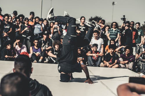 Man Performing Hip Hop Dance