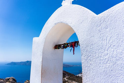 Ingyenes stockfotó égei, fehér épület, fehér kő, Földközi-tenger témában