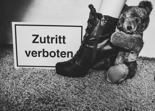 Free stock photo of black-and-white, boots, erotica, forbidden