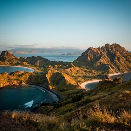Fotobanka sbezplatnými fotkami na tému hora, krajina, malebný, more