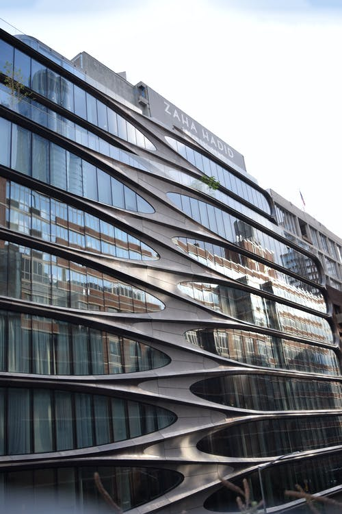 Free stock photo of appartement, building, cloud, curve