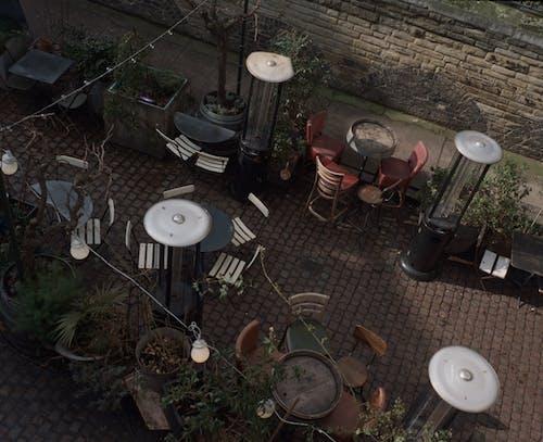 Gratis lagerfoto af by, bycafé, café, filmfotografering