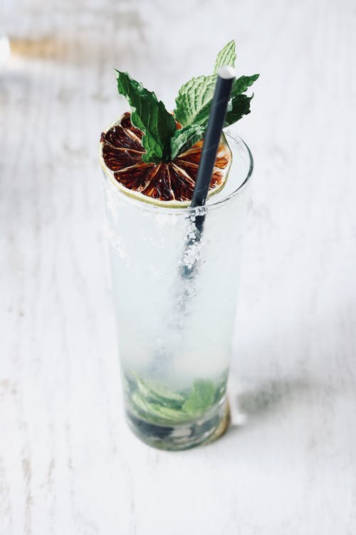Immagine gratuita di bevanda, bicchiere, freddo, menta