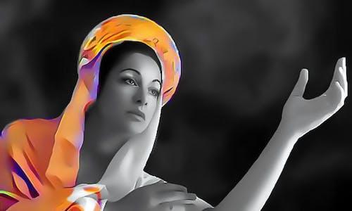 Foto stok gratis background hitam, gereja, gereja ziarah maria diangkat ke surga, jiwa
