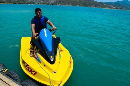 Fotobanka sbezplatnými fotkami na tému cestný výlet, more, priehrada, vodný skúter