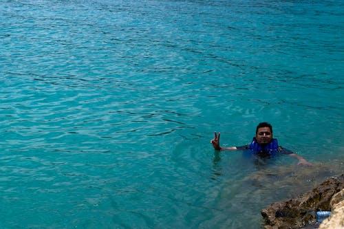 Fotobanka sbezplatnými fotkami na tému azúrová modrá, modrá, plávanie, priehrada