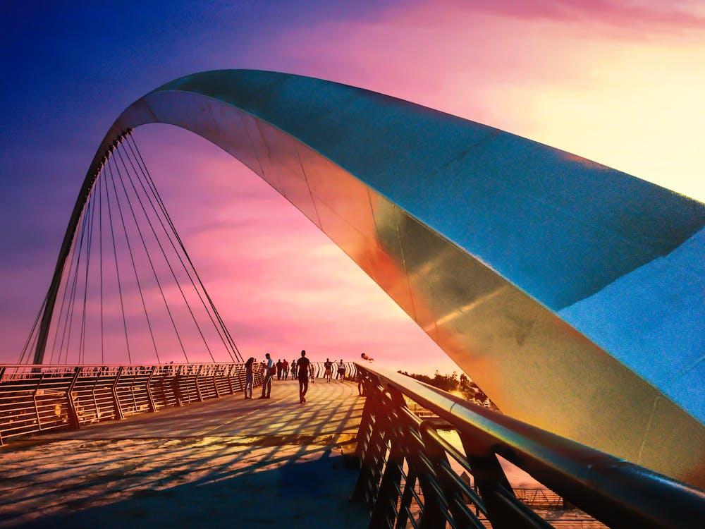 Free stock photo of architecture, bridge, dubai