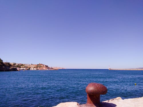 Free stock photo of Blue ocean, france, marseille, mediterranean sea