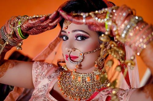 Free stock photo of bridal, bridal indian, bride